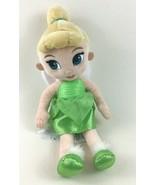 "Disney Store Tinker Bell Fairy 13"" Plush Stuffed Toy Disney Fairies Pete... - $21.73"