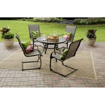 Outdoor Dining Set Patio Garden Yard Furniture 5 Piece Table Chair Chair... - $289.99
