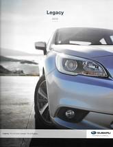 2015 Subaru LEGACY brochure catalog US 15 2.5i Premium 3.6R Limited - $8.00
