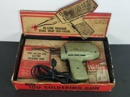 Vintage Sears Craftsman 100 Soldering Gun w/ original box and manual - $19.59