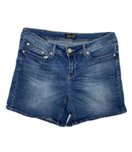 Seven7 Women Size 12 (Meas 34x6) Denim Shorts Medium - $17.82