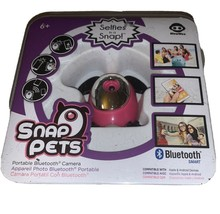 New WowWee Snap Pets Portable Bluetooth Pink Rabbit Remote Wireless Camera - $11.10