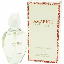 AMARIGE D'AMOUR By GIVENCHY for Women 3.3oz / 100ml EDT Spray -NIB NEW A... - $149.99