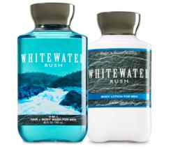 Bath & Body Works Whitewater Rush Body Lotion + 2 - in -1 - Hair + Body Wash Set - $32.95