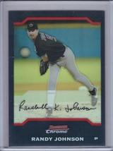 RANDY JOHNSON 2004 Bowman Chrome Refractor #8 (C4185) - $3.15