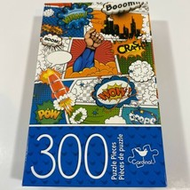 NEW 300 Piece Jigsaw Puzzle Comic Book Graphic Pow Boom Crash Wham Cardinal - $13.05