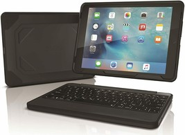 ZAGG Rugged Book Case Backlit Bluetooth Keyboard 9.7in -iPad Pro 9.7, iP... - $49.49