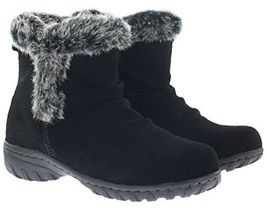 New in Box Khombu Women's Brown or Black Suede Lisa All Weather Winter Boots NIB image 4