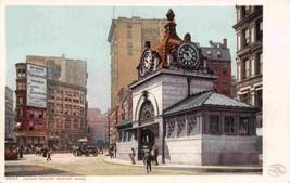 Adams Square Subway Station Boston Massachusetts Detroit Publishing post... - $6.93