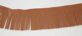 Simplicity 1868799073 Tan Faux Suede Apparel And Craft Trim 9 Yards image 1
