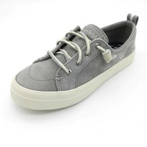 Sperry Top Sider Womens Crest Vibe Sneakers Gray STS82398 Lace Up Shoes 5 - $21.96