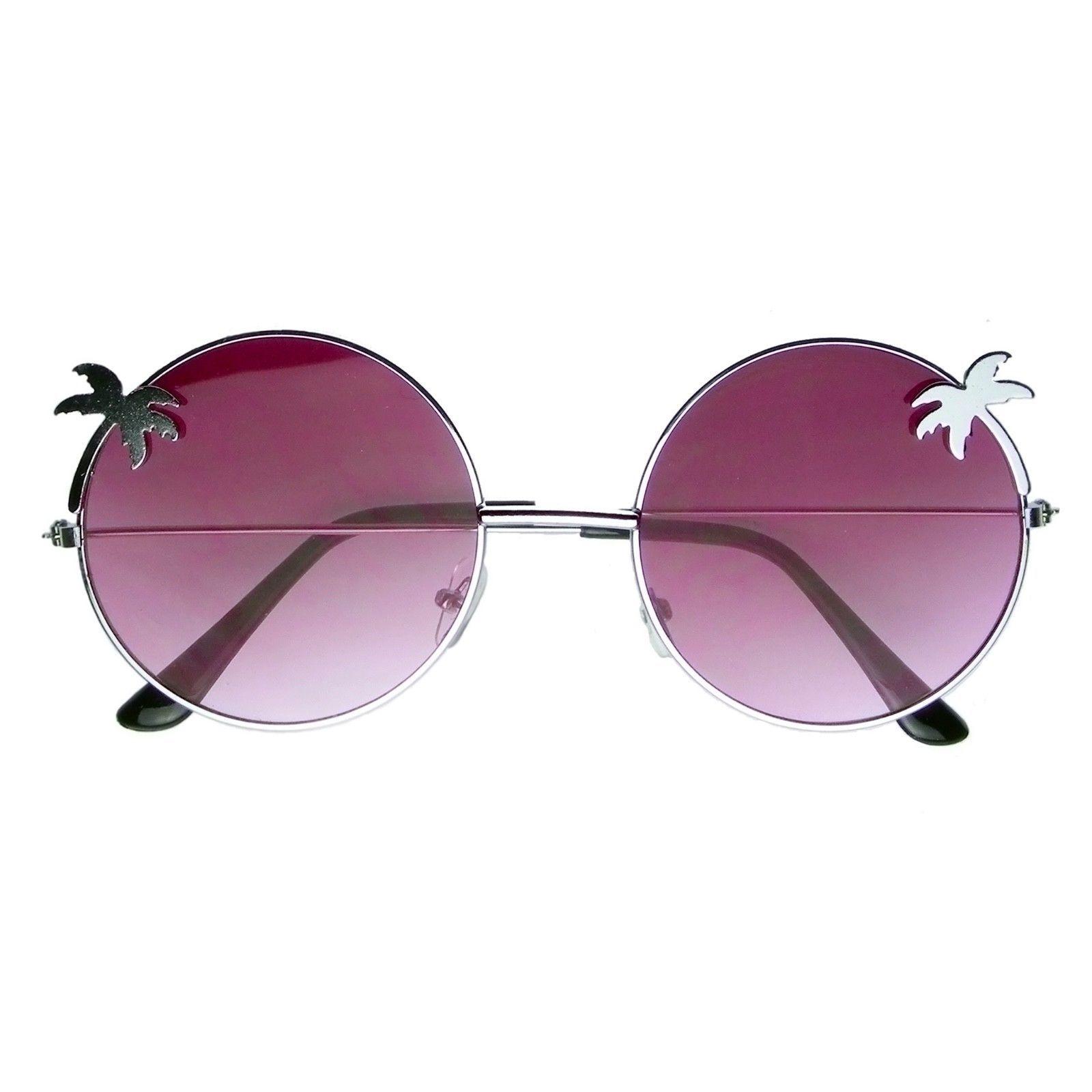 Vintage Retro Round Sun Glasses Hippie Boho Sunglasses image 5