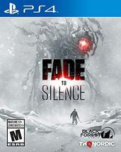 Fade to Silence - PlayStation 4 [video game] - $81.82