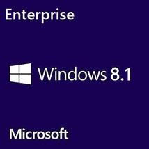 Windows 8.1 Enterprise 32/64-Bit Full Retail Edition Full Edition Lifetime - $18.39
