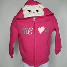 Children Place Cat Ear Long Sleeve Hoodie Sweatshirt Sweater Winter 12/18M - $14.99