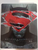 Batman V Superman Dawn of Justice Limited Ed UK Import Steelbook 3D + Blu-ray image 1