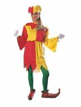 xaw272 JOLLY JESTER LADY Halloween Costume Standard 12 - $38.11