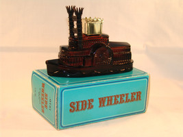 Avon Side Wheeler  Riverboat  Decanter  1971-1972 MIB - $15.43