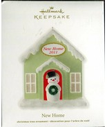 2011 Hallmark Keepsake Ornament - New Home - Snowman in Front of Home - $3.55