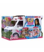 Barbie Ambulance Hospital 2 IN 1 With Many Accessories Toy Girl New - $278.00
