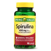 Spring Valley Spirulina, 400 mg, 90 capsules - $13.88