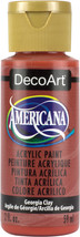 Americana Acrylic Paint 2oz-Georgia Clay - Opaque - $6.16