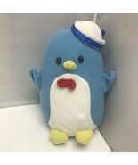 2012 Sanrio Tuxedosam Blue Penguin Hat Plush Stuffed Animal Toy 10″ - $29.99