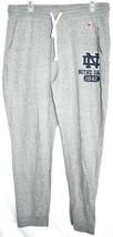 League Triblend Sweats Notre Dame Graphic Grey Jogger Sweatpants Size XL