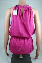 Calvin Klein women's top sleeveless pink glitter size S/P image 4
