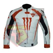 DAINESE 1011 ORANGE WATERPROOF COWHIDE LEATHER MOTORCYCLE MOTORBIKE ARMO... - $289.99
