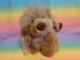 Vintage 1989 The Heritage Collection Ganz Bros Light Brown Puppy Dog Plush - $2.92