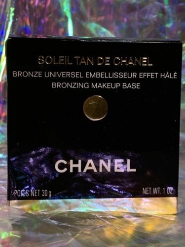 NEW IN BOX ORIGINAL Formula Discontinued Soleil De Tan Chanel Authentic Unused