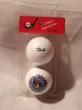 "NEW Set of 2 UNIQUE IMPRESSIONS ""Nick"" Golf Balls Nike - $18.00"