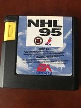 NHL 95 Hockey Genesis Cartridge Only, Very Good Condition - $4.95