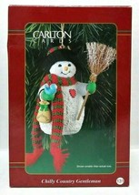 Carlton Cards Chilly Country Gentleman Christmas Ornament - $20.00