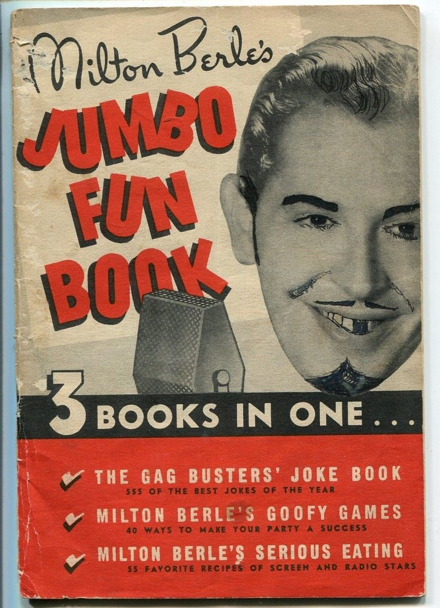 Primary image for MILTON BERLES'S JUMBO FUN BOOK 1940-QUAKER OATS-555 JOKES-good