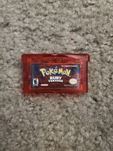 Pokémon: Ruby Version (Game Boy Advance, 2003) - $24.75