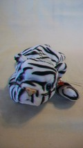 Blizzard the Tiger Ty Beanie Baby DOB December 12, 1996 Style 4163 No # ... - $6.92