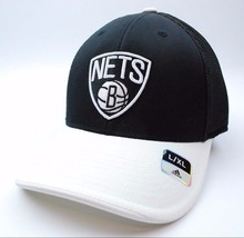Brooklyn Nets Adidas NBA Basketball TeamLogo Meshback Cap Hat L/XL - $19.90