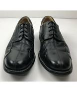 John & Murphy Black Leather Oxford Men Shoes 11 M  Made In Brazil - $44.52