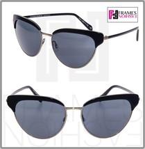 Oliver Peoples Josa OV1187S Shiny Black Gunmetal Mirrored Sunglasses 1187 - $230.67