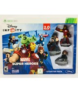 Xbox 360 Disney Infinity 2.0 Marvel Super Heroes Starter Pack COMPLETE w... - $23.74