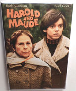 Harold and Maude MOVIE POSTER MAGNET 2X3 INCHES Bud Cort Ruth Gordon - $7.99