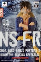 Banpresto One Piece 6.7-Inch Monkey D Luffy Figure A Jeans Freak Series  image 2