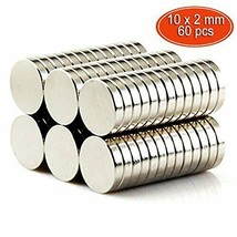 Magnete, GogoTool Neodym Magnet 10mm 60 Stück Rund Klein Magnete Ultr(Si... - $22.91