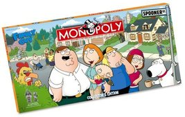 Usaopoly Family Guy Collector's Edition Monopoly - $80.00