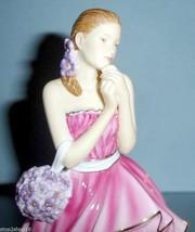 Royal Doulton Pretty Ladies Rebecca Figurine in Pink Gown HN5516 New In Box - $198.90