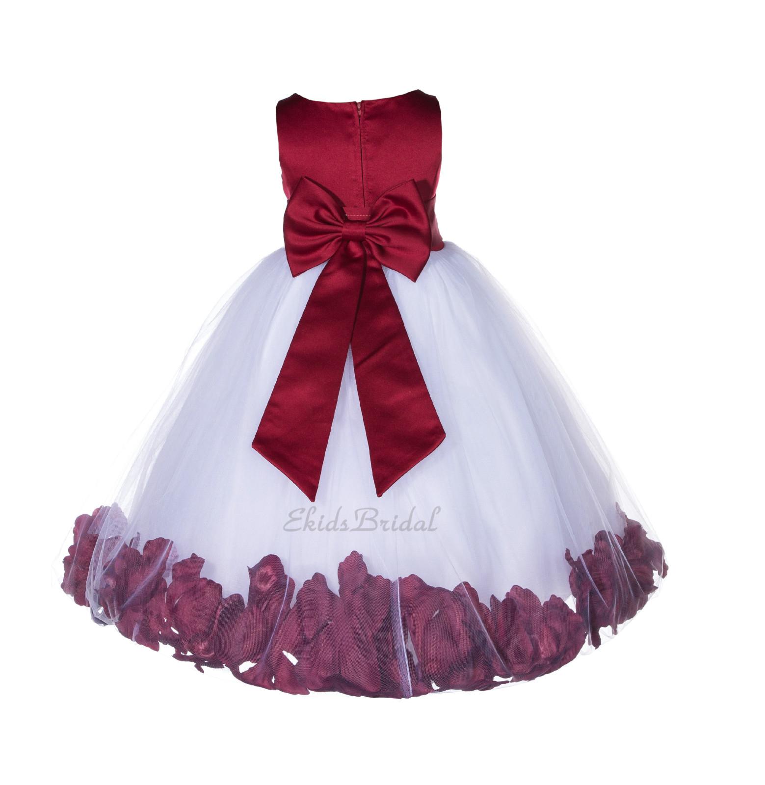 Floral Tulle Rose Petal Flower Girl Dress and 50 similar items