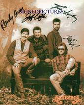 ALABAMA GROUP BAND SIGNED AUTOGRAPH 8X10 RP PHOTO BY ALL RANDY OWEN +  - $16.99