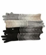 Calvin Klein Women's Ripple Stitch Armwarmer Gloves (Black) - $34.83
